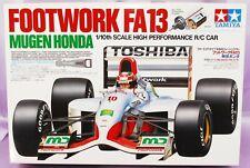 Raro TAMIYA 1/10 RC FOOTWORK FA13 MUGEN HONDA F1 F102 kit modelo del chasis #58114