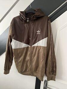 Adidas Jacket Windbreaker Colorado Hooded Size Small Rare