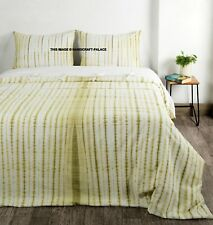 Boho King Size Quilt Duvet Cover Tie Dye Hippie Gypsy Indian Bedding Cover Set