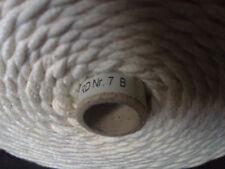 1kg Rolle Kerzen Docht (560m Spule) Runddocht Nr.7  NUR 10 Cent pro Meter