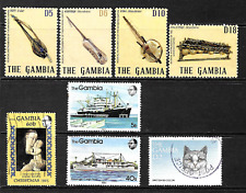 Gambia .. Splendid stamp collection .. 0851