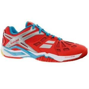Babolat Shadow 2 Men's Indoor Court Shoe (Red) for Squash, Badminton, Pickleball