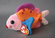 "Lips The Fish TY Beanie Babies 8"" Long 15 March 1999"