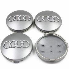 60mm Car Emblem Wheel Center Cap Logo Badge Rim Hubcaps for Audi car