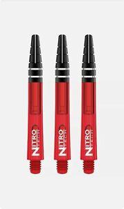 Red Dragon Nitrotech Dart Stems Medium Red