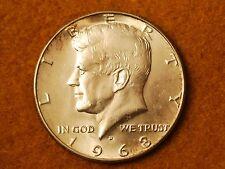 1968-D Kennedy Silver Half Dollar-Choice UNC
