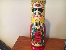 Rodnik Vodka Russian Lady Bottle Holder
