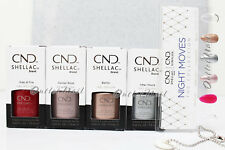 CND Shellac NIGHT MOVES Holiday Collection SET 4 Gel 92492 -> 92495 + Free Gift
