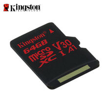 Kingston Canvas React 64 Go micro SDXC UHS-I U3 Carte Mémoir for 4K Caméra Vidéo