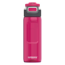 Kambukka Elton Water Bottle 750ml, Lipstick - BPA Free with 3-in-1 Snapclean Lid