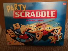 Scrabble Party Edition Board Game 2004 New and Sealed..