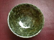 "Beautiful  Spinach Jade Chinese bowl""@LOW PRICE L@@K"""