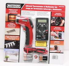 Mastergrip TempGun Non-Contact Digital Infrared IR Thermometer & multimeter