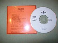 Frankie Avalon         **PROMO CD**     Frankie Avalon's Christmas Album