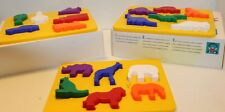 Discovery Toys Place and Trace Puzzle Stencils Animals Dinosaurs Transportation