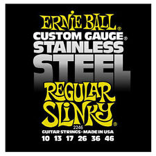 Ernie Ball 2246 Stainless Steel Slinky Gutar String Set