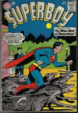SUPERBOY # 116 VG, The Wolf-Boy of Smallville, DC  1964