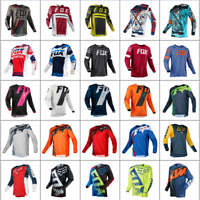 US- New FOX Mens 180 Race Dirt Jersey ATV MX Off-Road Motocross DH MTB Bike/Tops