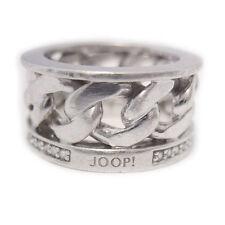 Joop! 925 er Sterling Silber Band Ring Kettengliederoptik silver ring