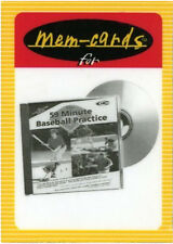 Baseball Flash Cards By Marty Schupak! A deck of 26! Coaches, parents,players!