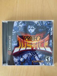 Project Justice (Sega Dreamcast, 2001)