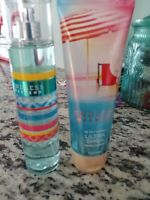 "Bath & Body Works ""Endless Weekend"" Fragrance Mist & Body Cream FULL SIZE NEW"