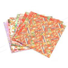 10 Pcs New Japanese Origami Washi Paper DIY Making Single Sided Colour 12*12cm