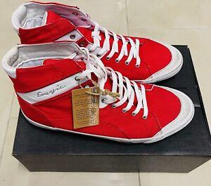 Energie Mesh Sneaker High Jordan Neu Gr.44 Rot