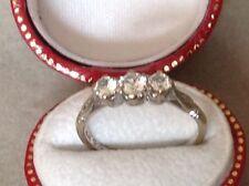 Graduation Round White Gold Fine Gemstone Rings