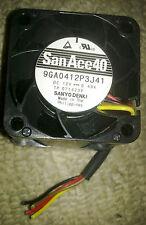 Sanyo Denki 9GA0412P3J41 San Ace 40 ventilador de refrigeración