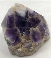 "3.5"" Amethyst Chevron Point Cluster Crystal Quartz Natural Stone Specimen Brazil"