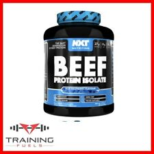 NXT Nutrition Beef Protein Isolate Lean Muscle Growth Size Fat Free