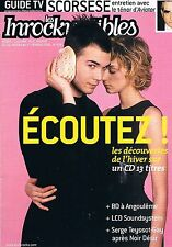 Les Inrockuptibles   N°478  -  26 jan 2005 - Scorsese Serge teyssot-gay