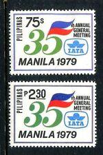Philippines 1441-1442,MNH.Michel 1325-1326. Air Transport Associations,1979.