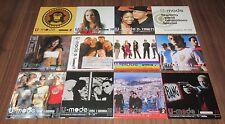 All PROMO ONLY inc U2 tracks 12 x JAPAN various artist compilation CD set BONO