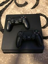 Sony PlayStation 4 500GB Jet Black Console + 2 Controllers