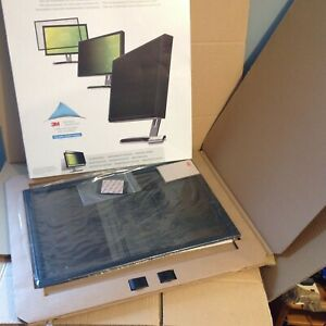 """3M PF319W Framed Privacy Filter for Widescreen 19 """" Desktop LCD"""