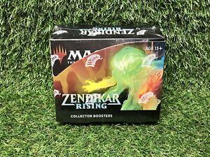 MTG Zendikar Rising Collector Booster Box (12 Packs) Brand New & Factory Sealed