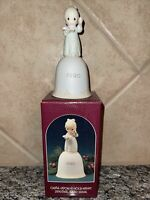 Precious Moments Enesco Once Upon A Holy Night 1990 Bell 523828 in box