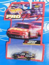 Hot Wheels Pro Racing 1997 Edition NASCAR #96 D Green Caterpillar Monte Carlo