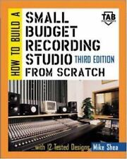 HOW TO BUILD A SMALL BUDGET RECORDING STUDIO FROM SCRATCH : WITH By Michael NEW
