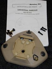 NOROTOS NIGHT VISION HELMET SHROUD 1 OR 3 HOLE NVG RHINO MOUNT LEVER BRACKET