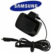 GENUINE Official Samsung EP-TA60UBE UK 3 Pin Compact Travel Wall Charger - NEW!