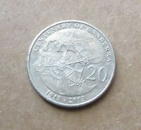 AUSTRALIAN  2013 CENTENARY OF CANBERRA....20 CENT COIN...
