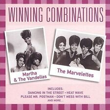 Martha & the Vandellas & The Marvelettes / Winning Combinations (CD) Motown !!!!