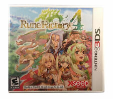 RUNE FACTORY 4 3DS ACT NEW VIDEO GAME