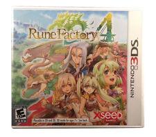 Rune Factory 4 USED SEALED (Nintendo 3DS, 2013)