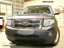 Lebra Front End Mask Bra Fits 2009-2012 Ford Escape W/O Park Assist