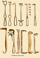 Vintage Product Catalog Medical Surgical Instruments Tools microscope PDF on CD