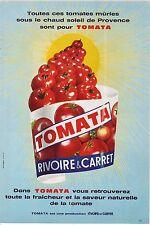 PUBLICITE ADVERTISING 1968 014 RIVOIRE & CARRET tomata  saveur de la tomate